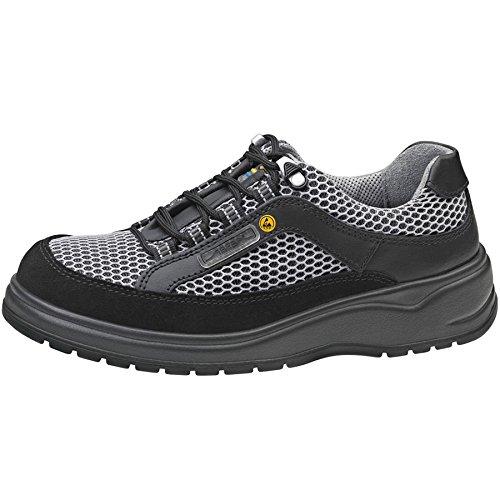 Abeba 31055-43 Light Chaussures de sécurité bas ESD Taille 43 Noir/Gris