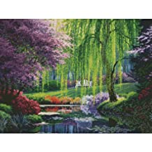 Candamar Designs The Willow Pond by Charles White Needlepoint Kit