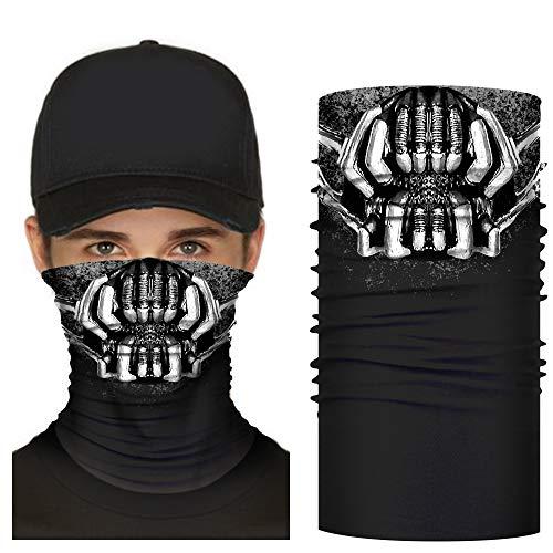 Bane Mask Adult Men Halloween Latex Face Mask Cosplay Costume Prop