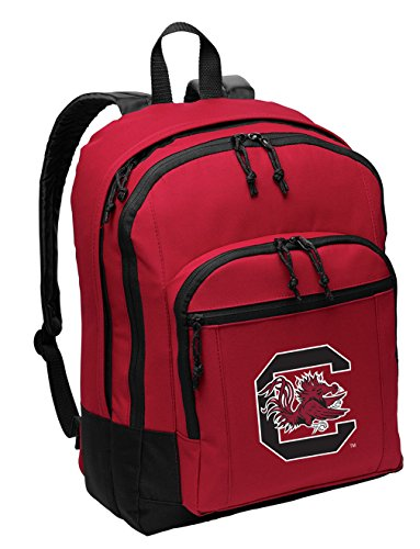 Broad Bay University of South Carolina Backpack Medium Classic Style with Laptop Sleeve