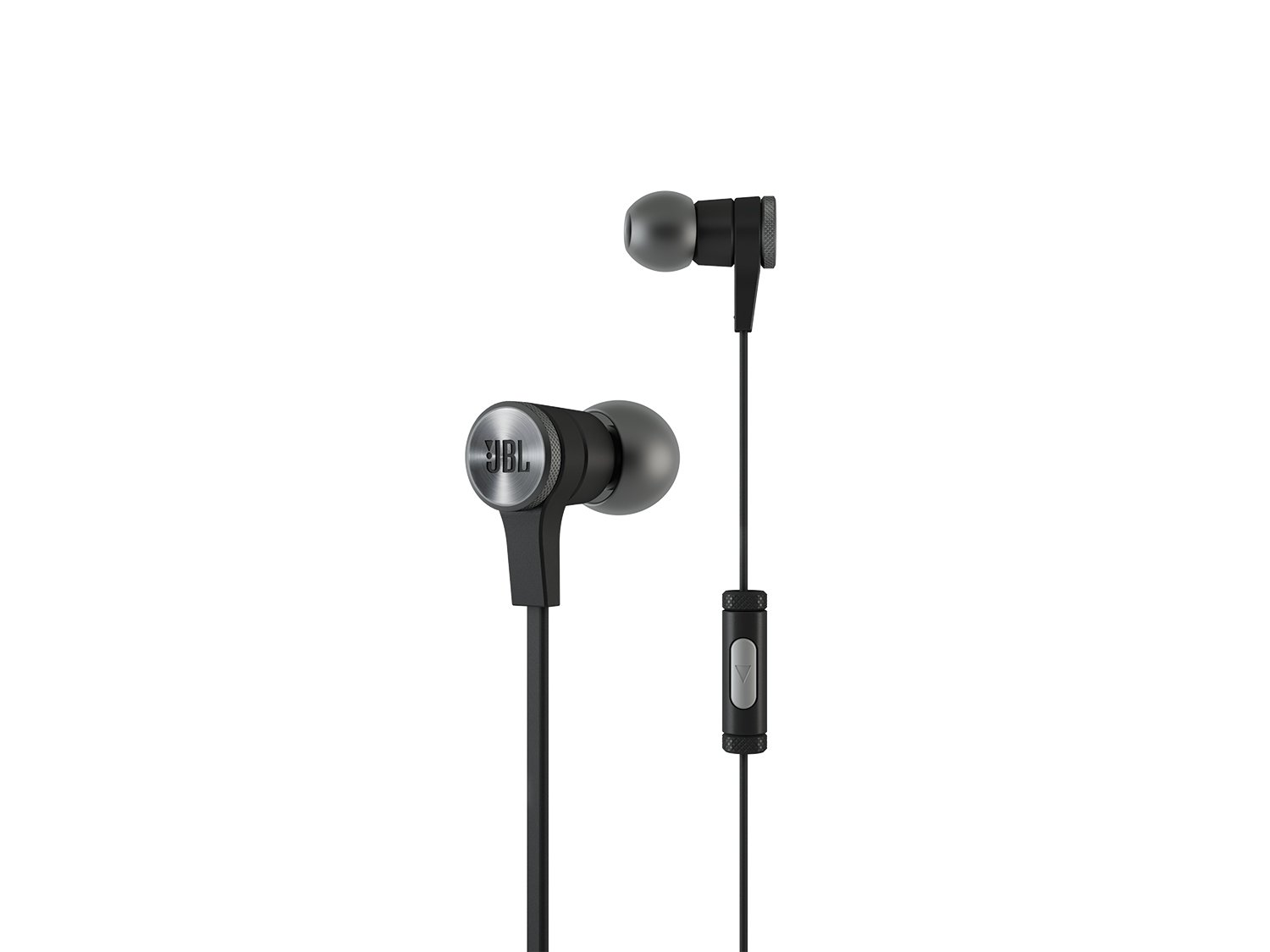 JBL E10BLK In-Ear Headphones with JBL-Quality Sound and Advanced Styling, Black