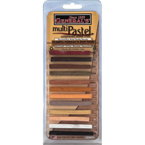 general-pencil-multi-pastel-compressed-chalk-sticks-12-pack