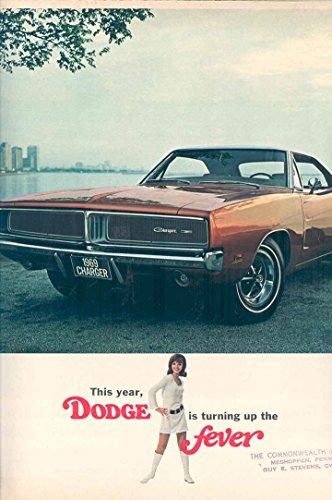 1969 Dodge Brochure Charger Coronet Dart Swinger Monaco from Dodge