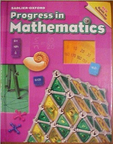 Progress in Mathematics: Grade 6