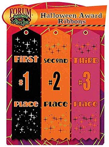 (Forum Novelties Costume Award Ribbons (Set of 3),)
