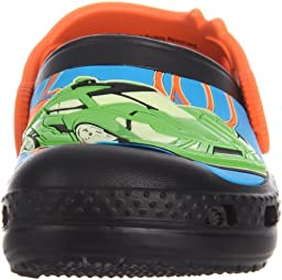 Crocs Hot Wheels Clog (Toddler/Little Kid),Black,6 M US Toddler