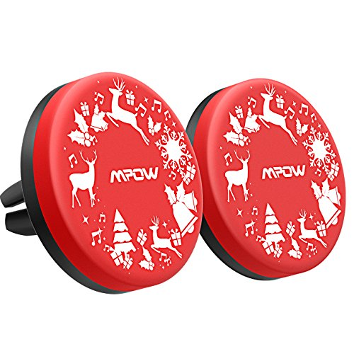 Mpow Magnetic Car Phone Holder with Christmas Elk, Universal Air Vent Car Phone Mount /w Strong Magnet Car Holder for iPhone X/8/8Plus/7/7Plus/6s/6Plus/5S, Galaxy S5/S6/S7/S8, Google, LG, Huawei etc