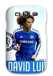 Galaxy S3 Case Cover - Slim Fit Tpu Protector Shock Absorbent Case (david Luiz)