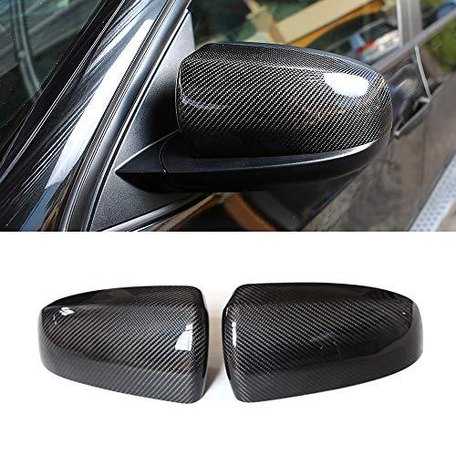 Mosion Auto Carbon Fiber Mirror Cover for BMW E70 X5 2007-2013 E71 X6 2008-2013 (ADD ON)
