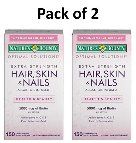 Highest Rated Hair, Skin & Nails Complex Vitamins