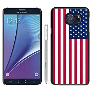 Popular Samsung Galaxy Note 5 Case ,Fashionable And Unique Designed Case With 49 star american flag Black Samsung Galaxy Note 5 Cover High Quality Phone Case