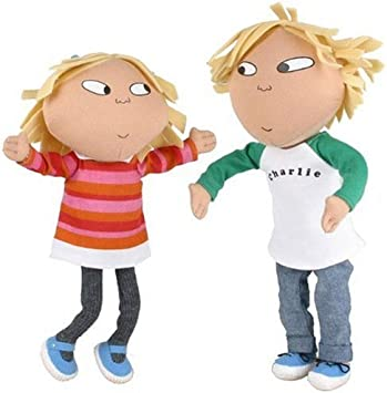 Charlie And Lola Poseable Talking Dolls Amazon Co Uk Toys Games