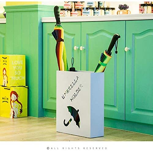 Giow Foyer Regenschirmständer, kreativer Regenschirmständer aus Eisen, Tischplatte für Zuhause, faltbar, einfach, 41 x 33 x 12 cm (Farbe: C) A