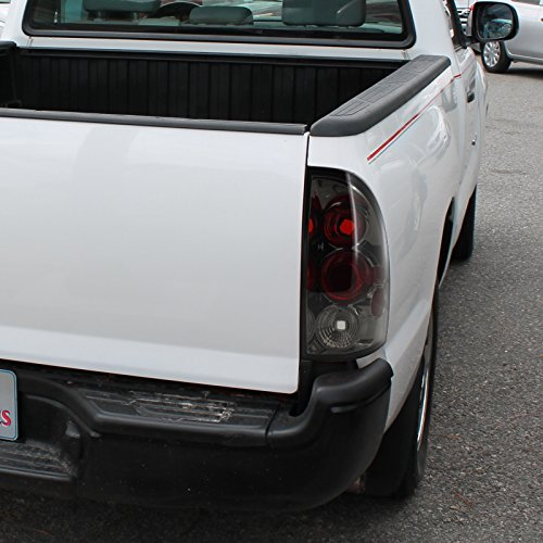 Spec-D Tuning LT-TAC06G-TM Toyota Tacoma Altezza Smoke Tail Lights Pair