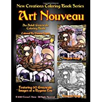 Image for New Creations Coloring Book Series: Art Nouveau
