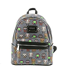 Loungefly x Marvel Guardians Of The Galaxy Kawaii Mini Backpack Charcoal-Multi