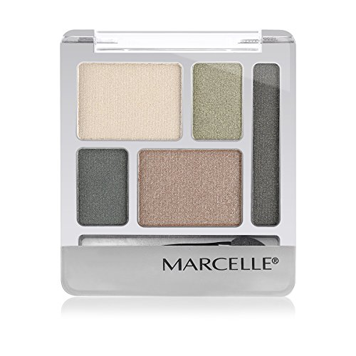 Marcelle Quintet Eyeshadow, Hunter Green, Hypoallergenic and