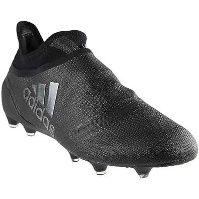 5ba731498aac adidas pour Homme X 17 + Purespeed FG Football Crampons (Noir)