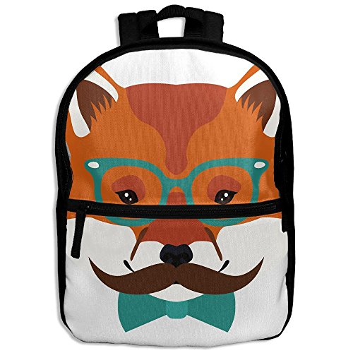 Fox Wear Sunglass Children Backpack School Daypack Oxford Bag Travel Sports Book - Valley Mall Sun