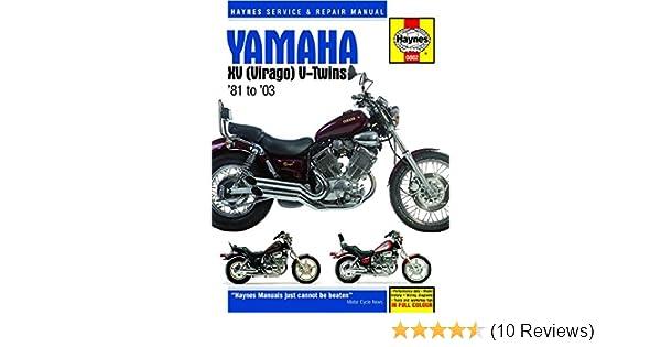 Amazon haynes repair manuals 802 yamaha xv virago v twin 81 03 amazon haynes repair manuals 802 yamaha xv virago v twin 81 03 automotive publicscrutiny Images