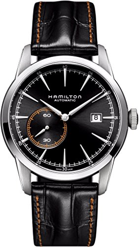 Hamilton Men's H40515731 Timeless Classic Analog Display Swiss Automatic Black Watch by Hamilton