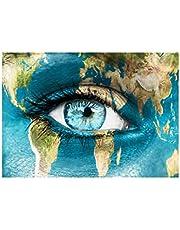Mavi Göz Notebook Sticker Laptop Sticker Dizüstü Sticker Bilgisayar Sticker