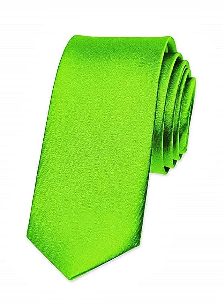 Cravatta di Raso Taglia unica Accessorio Moda Uomo per Ogni Occasione Feste a Tema Cosplay