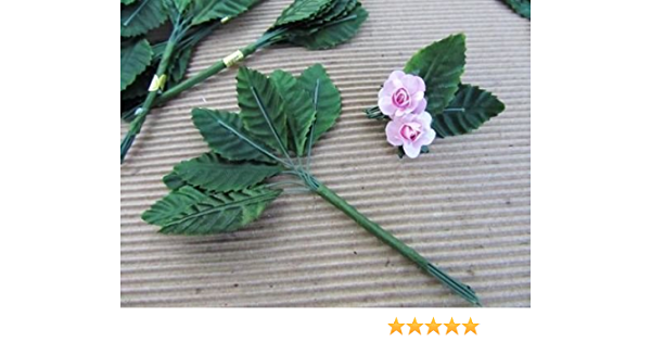 20M Silk Leaf Artificial Green Leaves Decor DIY Wreath Craft s// Gift Flower W4Q8