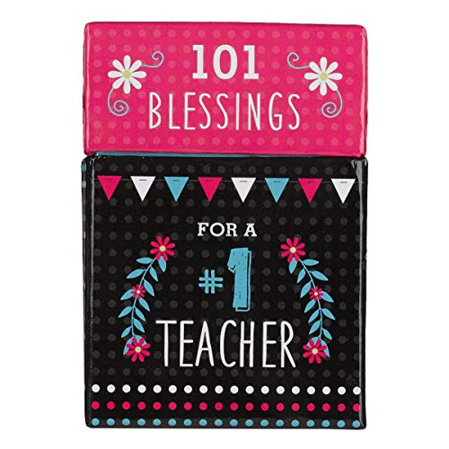 101 Blessings for a #1 Teacher Cards - A Box of Blessings