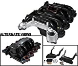APDTY 726289 Intake Manifold Assembly w/Gaskets & Upgraded Heavy Duty Aluminum Coolant Crossover Fits 96-1997 Mercury Cougar 4.6L / 1996-2000 Mercury Grand Marquis / 1996-2000 Lincoln Town Car / 1996-2000 Ford Crown Victoria / 1996-1998 Ford Mustang 4.6L