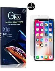 SONWO Protector Pantalla iPhone XR, Anti-Burbujas, Cristal Templado para Apple iPhone XR Anti-despegamientos, Anti-arañazos, Cobertura Completa, 1 Piezas