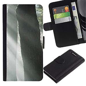 Stuss Case / Funda Carcasa PU de Cuero - Planta Naturaleza Forrest Flor 53 - Sony Xperia Z3 Compact