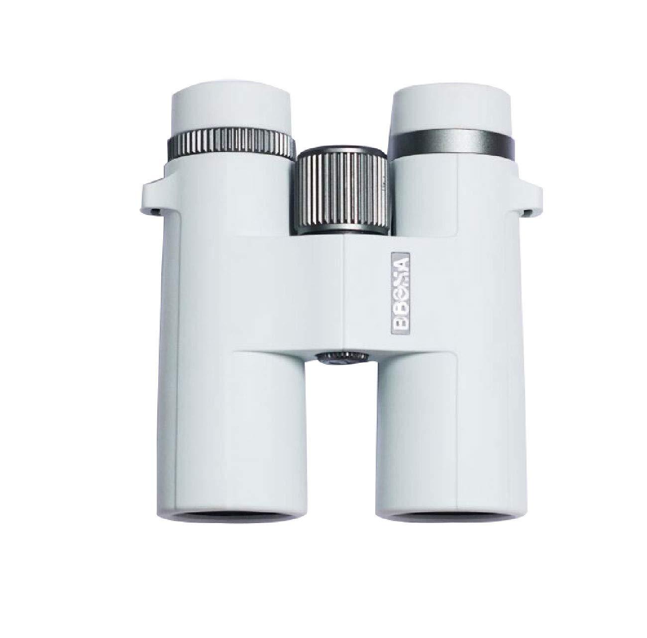 双眼鏡高精細ハイライト低光ナイトビジョン非人間の視点5倍-10倍優れたイメージングとより美しい外観多色オプション149 * 53.5 * 129ミリメートル 光学双眼鏡 (Color : 白)   B07HRN1DHK