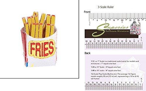 Dollhouse Miniature French Fries Farrow Industries Inc.