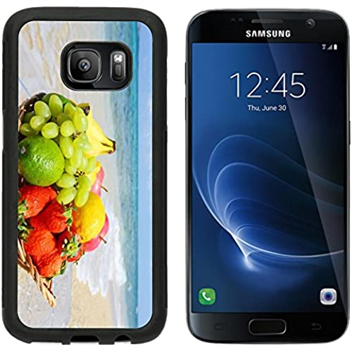 MSD Premium Samsung Galaxy S7 Aluminum Backplate Bumper Snap Case IMAGE ID 27518615 Exotic tropical fruit on the Sales