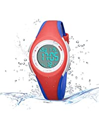 Kids Watch Outdoor Waterproof Watch with Alarm for Child...