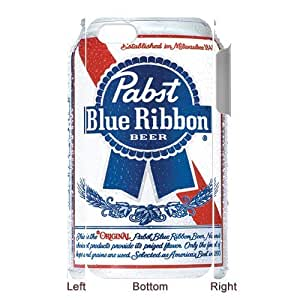 Custom Your Own Personalised Beer Pabst Blue Ribbon iPhone 5 Best Durable Case Cover