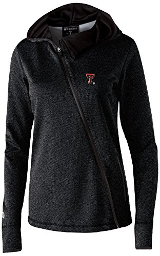- Ouray Sportswear NCAA Texas Tech Red Raiders Women's Artillery Angled Jacket, X-Large, Black Heather