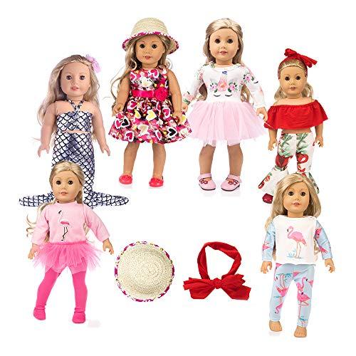 american girsl doll unicorn 11pc american girsl doll clothes 18 inch Doll Clothes American girsl Doll Accessories ,American girsl Doll Unicorn Clothes,American girsl Doll Unicorn Accessories and Clot (18 American Doll Clothes)