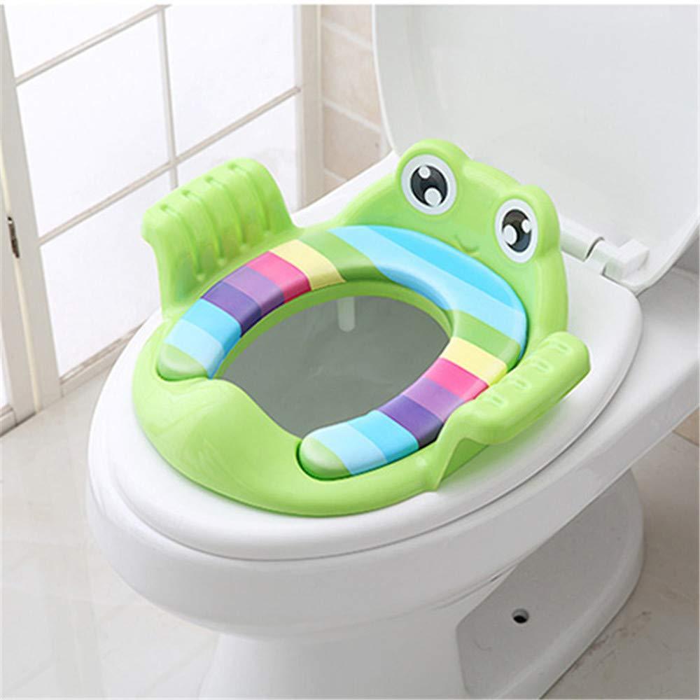 zus/ätzliches Toilettenkissen des S/äuglings FHYER T/öpfchen f/ür Kinder Kindertoilette Toilettentrainer T/öpfchen-Kleinkind-Toilettensitz-tragbares Baby