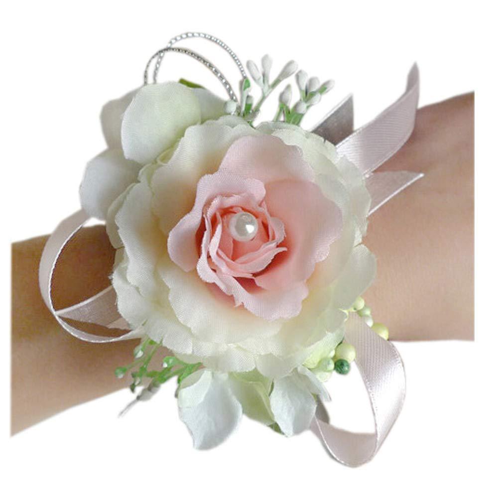 Amazon Arlai Wrist Corsage Wristband Roses Wrist Corsage For