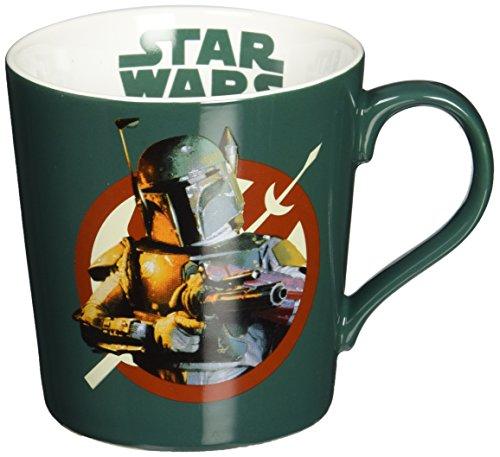 Vandor 99362 Star Wars Boba Fett Ceramic Mug, 12-Ounce, - Boba Fett Gifts