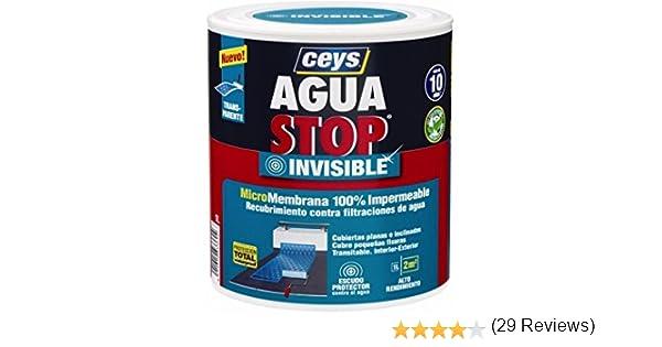 Ceys Aguastop Invisible - Micromembrana transparente, 100 ...