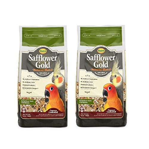 Higgins-Safflower-Gold-Natural-Food-Mix-for-Conures-Cockatiels
