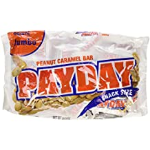 PayDay Peanut Caramel Snack-Size Bars, Jumbo Bag, 20.3-Ounce Bag (Pack Of 3)
