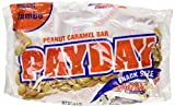 chocolate payday candy bar - PayDay Peanut Caramel Snack-Size Bars, Jumbo Bag, 20.3-Ounce Bag (Pack Of 3)