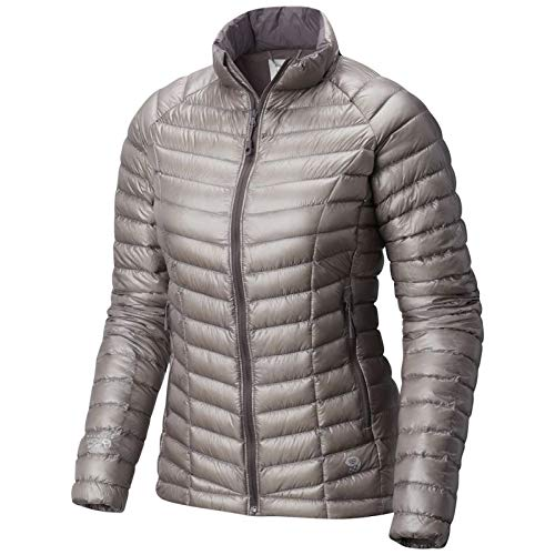 Mountain Hardwear Womens Ghost Whisperer Insulated Down Water Repellant Jacket, Non-Hood -Mystic Purple - ()