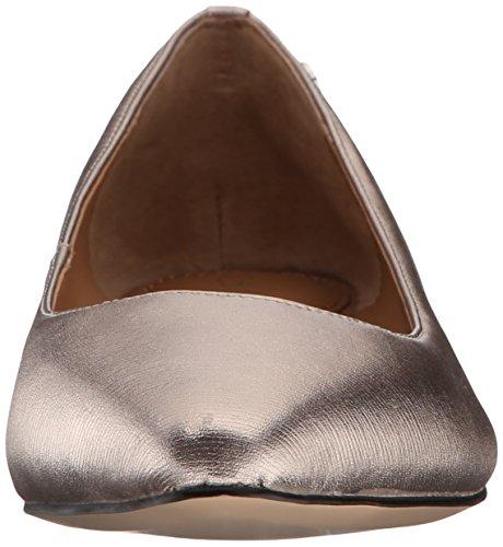 Calvin Klein Womens Elle Ballet Flat Soft Platinum 04ZAbS
