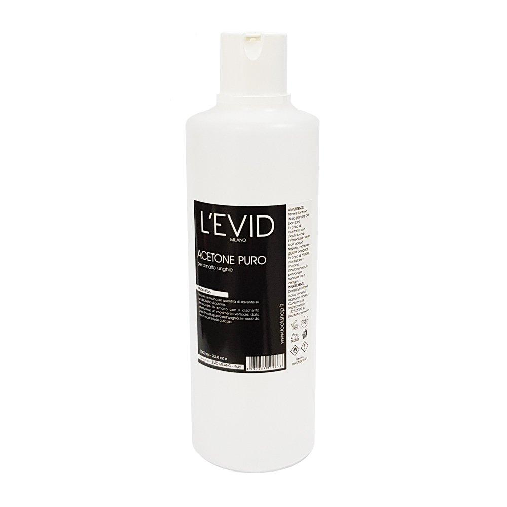 Acetone Puro L'EVID MILANO - 1000ml L' EVID MILANO