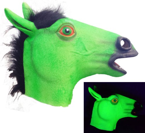 HMS Latex Horse Blacklight Mask